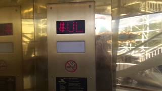 Download Glass Elevator Near the Carousel in Lynhaven Mall: Virginia Beach. Video