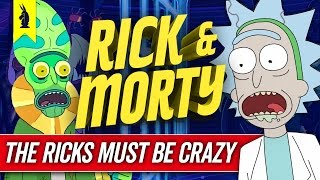 Download How RICK & MORTY Tells A Story (The Ricks Must Be Crazy) – Wisecrack Edition Video