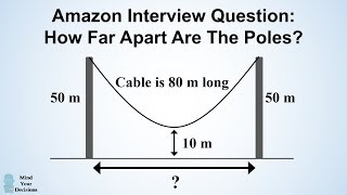 Download Can You Solve Amazon's Hanging Cable Interview Question? Video
