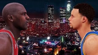 Download WHEN MICHAEL JORDAN MET STEPHEN CURRY FT. DRAKE | NBA 2K16 | GTA V | SKIT | Video