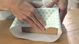 Download Giftology: How to Wrap a Box Video
