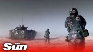 Download New Chinese military video brimming with its latest weapons Video