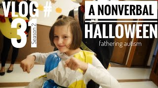 Download Nonverbal Autism Trick Or Treating | iPad Communication | Fathering Autism Vlog #31 Video
