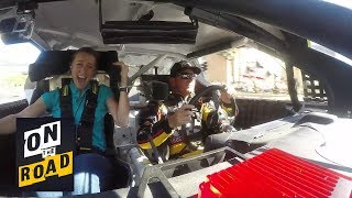 Download NASCAR's Clint Bowyer takes rookie on the ultimate Vegas burnout experience I NBC Sports Video