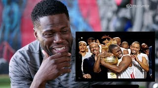 Download Kevin Hart React to His Cringy Basketball Videos Video