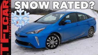 Download 2019 Toyota Prius AWD vs Wisconsin Blizzard - Sort of... Video