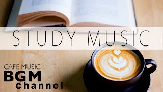 Download Cafe Music For Study - Relaxing Jazz & Bossa Nova Music - Background Instrumental Music Video