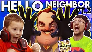 Download WE SCARED OUR BLIND NEIGHBOR!? FGTEEV Scary Hello Neighbor Kids Horror Game Part 2 (Alpha 2 Update) Video