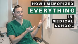 Download How I Memorized EVERYTHING in MEDICAL SCHOOL - (3 Easy TIPS) Video