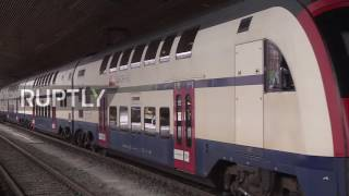 Download Switzerland: Bitcoins now available to buy at SBB railway station ticket kiosks Video
