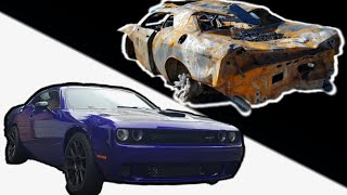 Download BUILDING A BURNT HELLCAT In MINUTES! Video