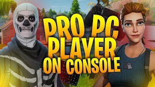 Download PRO Player Uses a KEYBOARD on PS4! Solo Squads Blitz! - Fortnite Battle Royale Video