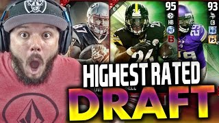 Download HIGHEST OVERALL DRAFT!! I BLOCKED A KICK - MADDEN 17 DRAFT CHAMPIONS Video