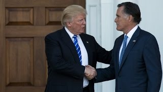 Download Trump & Romney meet; as Trump mulls picks Video