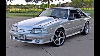 Download 1991 Ford Mustang GT 5.0 HO 302 Foxbody Video