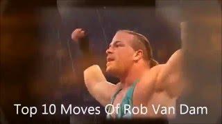 Download Top 10 Moves Of Rob Van Dam Video