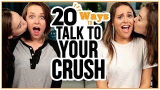 Download 20 Ways to Talk to Your CRUSH - w/ Alexis G. Zall and Ayydubs Video