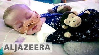 Download Legal battle to send terminally ill UK baby to US for treatment ends Video