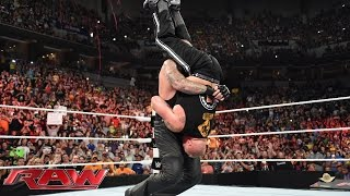 Download The Undertaker crashes Brock Lesnar's homecoming celebration: Raw, Aug. 17, 2015 Video