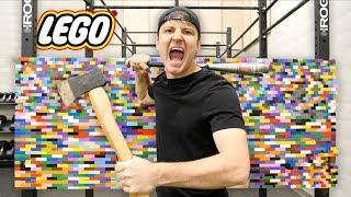 Download 100 LAYERS OF LEGO (DANGER ALERT) UNBREAKABLE WALL Video