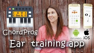 Download ChordProg Ear Training App Review Video