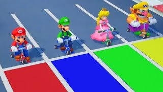 Download Super Mario Party - All Racing Minigames (2 Players) Video