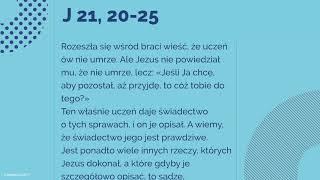 Download #Ewangelia | 19 maja 2018 | (J 21, 20-25) Video
