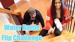 Download WATER BOTTLE FLIP CHALLENGE | That Married Couple Video