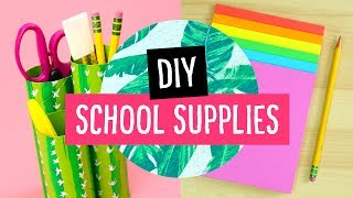 Download 5 DIY Back to School Supplies & Desk Accessories! ✏️ Sea Lemon Video
