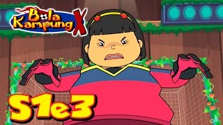 Download 🇲🇾 Bola Kampung X | S1E3 | Ancaman Strawberry (Malay) | Kartun Kanak-Kanak Video