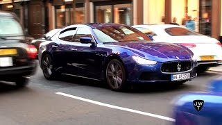 Download 2015 Maserati Ghibli S Q4 Revving & Accelerating in London! Exhaust Sounds! Video
