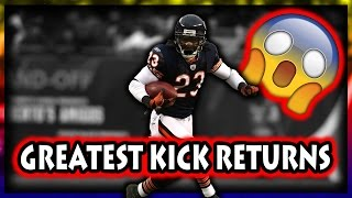 Download Greatest Kick Returns in Football History Video