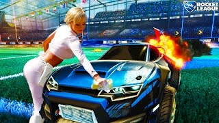Download ROCKET LEAGUE: CRAZY RUMBLE FUN with VULCAN - ROCKET LEAGUE RUMBLE FUNNY MOMENT & FAILS Video