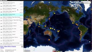 Download M5.4 Flare and earthquake reflection of the GMLS Video
