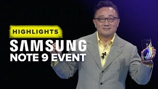Download Samsung's Note 9 Unpacked event highlights in 10 minutes Video