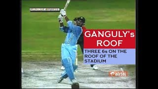Download (HQ) Ganguly's ROOF! Clears the roof 3 times - ToNY Grieg Classic Commentary Video