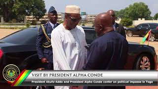 Download Visit by President Alpha Conde Video