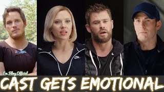Download Avengers 4: End Game Cast Gets Emotional Thinking About 10 Years of Marvel Relationship - 2018 Video