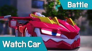 Download [Watch car Battle Scene12] Watch car VS shadowcar-elec Video