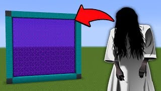 Download HOW TO MAKE A PORTAL to the GHOST GIRL Dimension in Minecraft PE Video