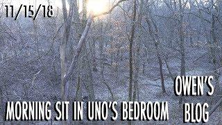 Download Owen's Blog: Morning Sit In Uno's Bedroom Video