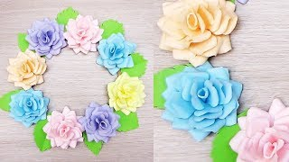 Download New Wall Decoration Ideas | Beautiful Wall Hanging Making at Home | Paper Flower Wall Hanging 1812 Video