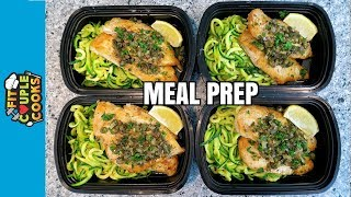 Download How to Meal Prep - Ep. 59 - CHICKEN PICCATA - LOW CARB MEAL PREP Video