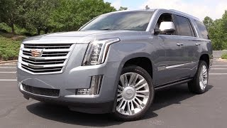 Download 2016 Cadillac Escalade Platinum - Start Up, Road Test & In Depth Review Video