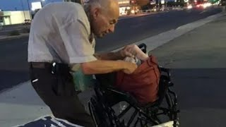 Download Drivers Passed This Old Man On The Street Every Night Then A Woman Stopped To Ask Him Who He Is Video