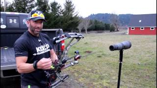 Download Cam's Spyder Turbo 160 Yard 5-shot group Video