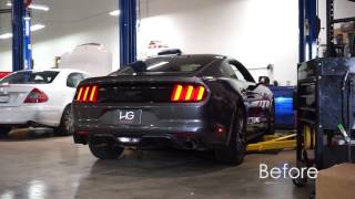 Download 2015 Mustang EcoBoost - Ford Racing by Borla Catback Exhaust System - HG Motorsports Video