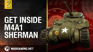 Download World of Tanks PC - Inside the Chieftain's Hatch: M4A1 Sherman part 2 Video