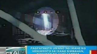 Download Pagpapakita umano ng imahe ni Hesukristo sa isang simbahan sa Bulacan, nakunan ng CCTV camera Video