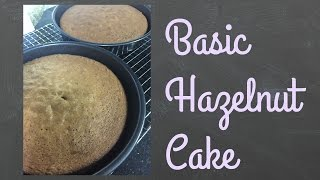 Download Basic Hazelnut Cake | Bakemas Day 10 | Basic recipes Video